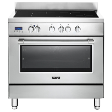 """תנור משולב כיריים אינדוקציה 90 ס""""מ DELONGHI NDSI1050"""