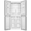 מקרר 4 דלתות זכוכית לבנה Haier HRF447FW