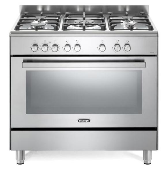 תנור משולב כיריים דגם DELONGHI NDS929X