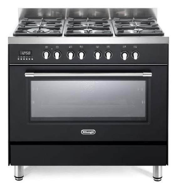 תנור משולב כיריים דגם DELONGHI NDS982
